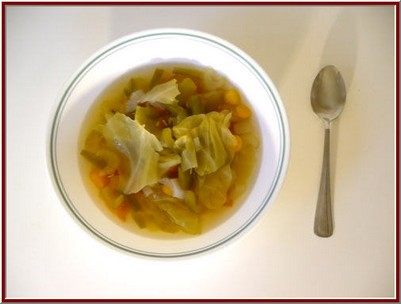 It is a high fiber diet. With the cabbage soup diet you are full